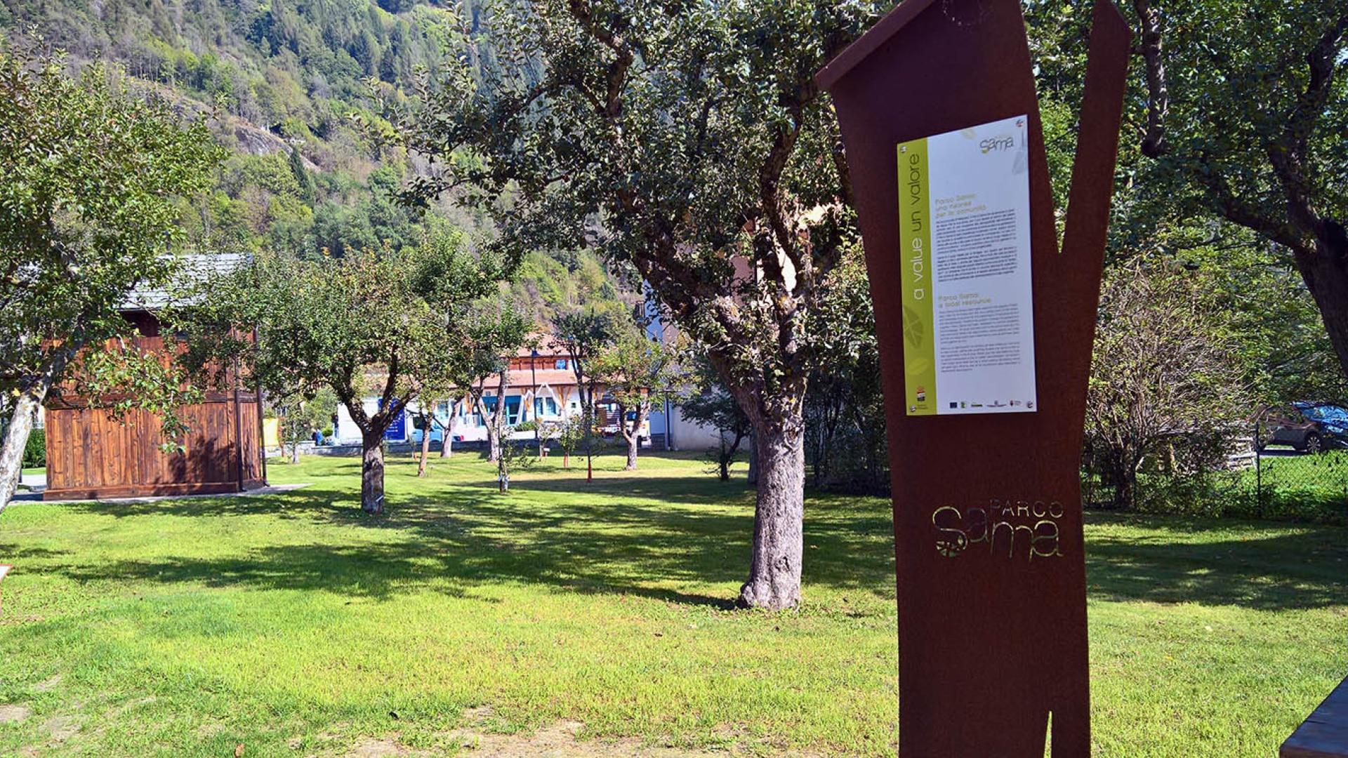 Parco Sama - Pellizzano - allestimento permanente