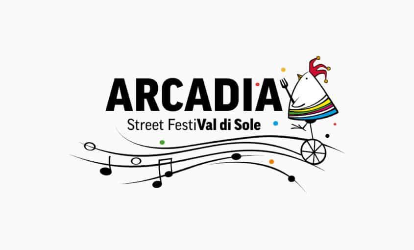 Arcadia - Street FestiVal di Sole - Logo