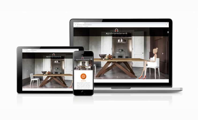 Agostini Arredamenti - website