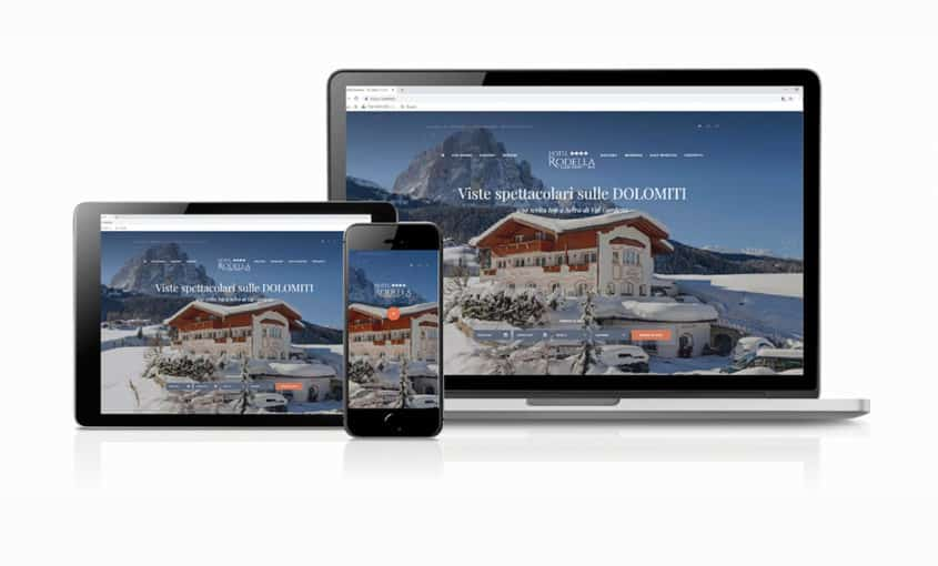 Hotel Rodella - website